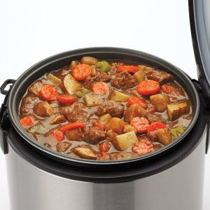 How to cook stew easy in Aroma 8-Cup digital rice cooker ...