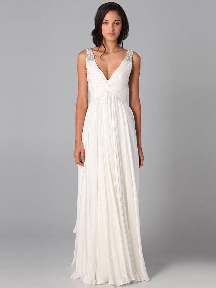 Simple Second Wedding Dress Fashion In 2018 Pinterest