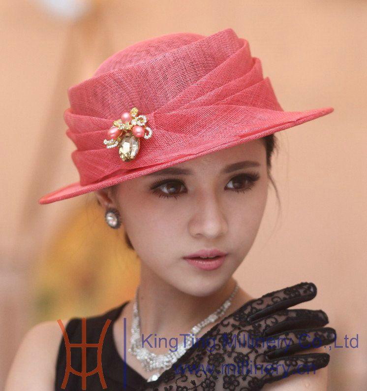 Popular Girls Church Hats-Buy Cheap Girls Church Hats lots from ... 7852d9c16b54