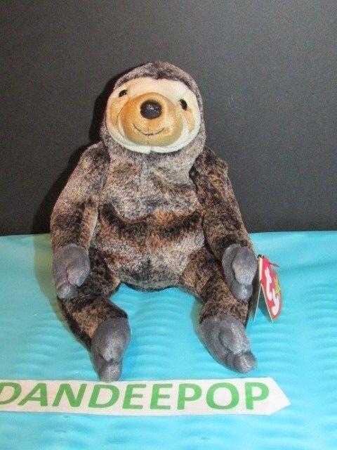 79ffe0fb846 TY Retired Beanie Baby Slowpoke Sloth 1999 Retired Ty With Tags  Ty  Beanie   beaniebaby  slowpoke  sloth  dandeepop Find me at dandeepop.com