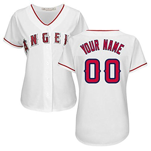 f5c5214da Generic Los Angeles Angels Personalized White Jerseys Albert Pujols 5 Woman  Size XL ** Want to know more, click on the image.(This is an Amazon  affiliate ...