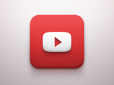 Youtube Ios Icon Ios Icon Icon Design Mobile Icon