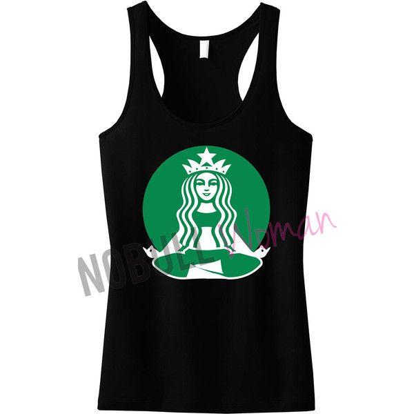 00d4c53103f5b Starbuff Parody Yoga Workout Tank Top Yoga Clothing Workout Tanks Gym... (41