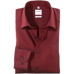 Photo of Olymp Luxor shirt, comfort fit, New Kent, red, 40 Olymp