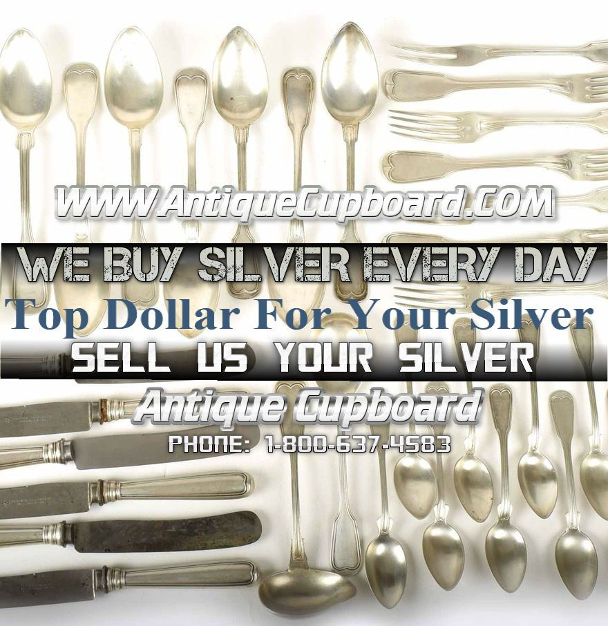 Antique Cupboard is THE place to find sterling silver flatware, and  silverware. Search our online database for just the right silver items. - Top Cash For Your Sterling Silver We Do Not Melt Silver So You Get