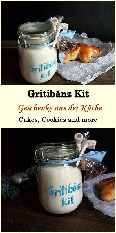 Geschenke aus der Küche - Gritibänz Kit #rezept #gritibänz - geschenke für die küche