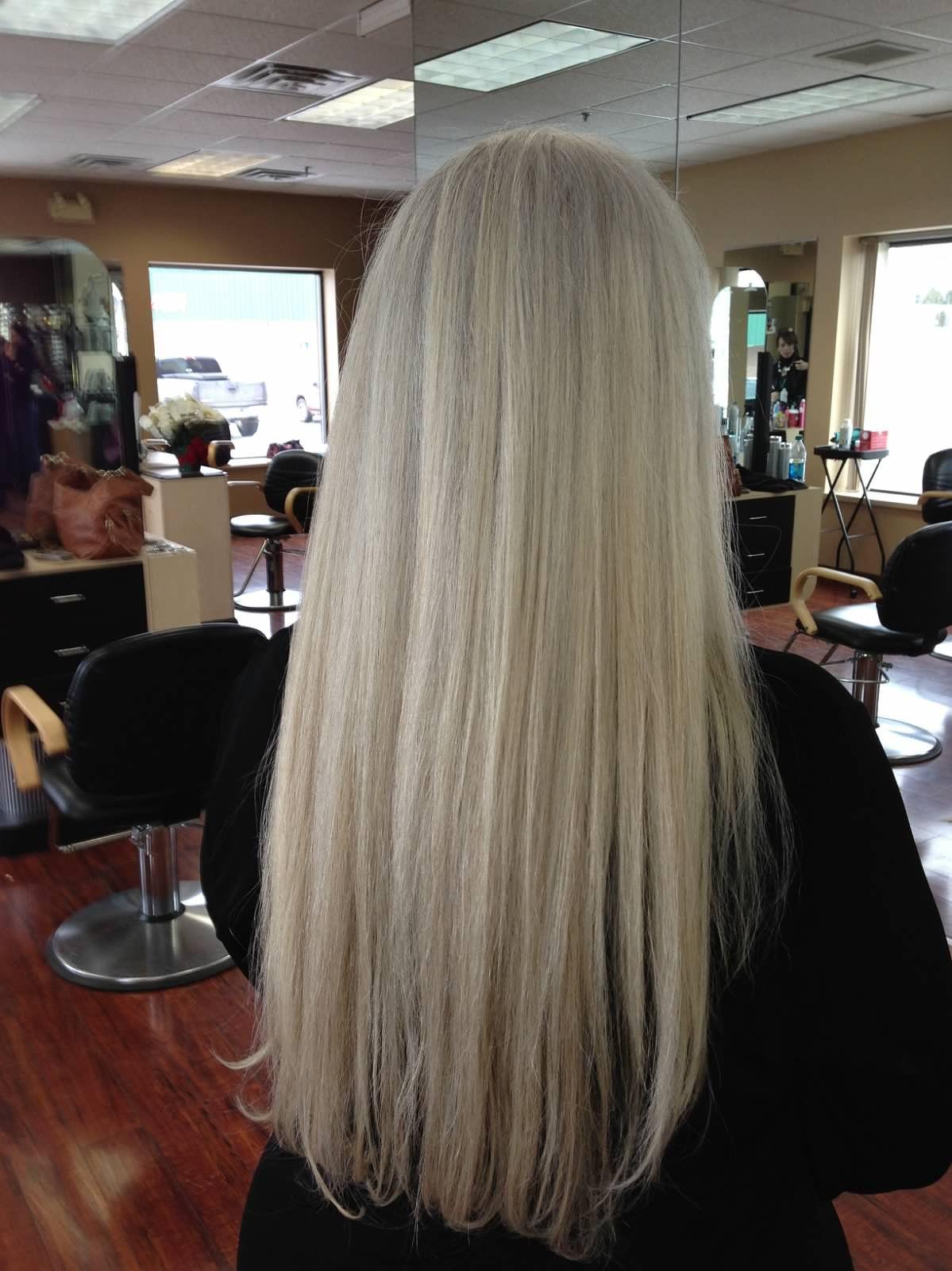 Blonde Highlighted Hair Returned To Natural White Portfolio