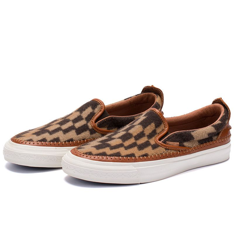Gorgeous Vans Slip-On Lx (Pendleton) Saddle