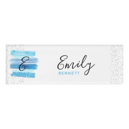 glitter glam name tag girly dreams pinterest