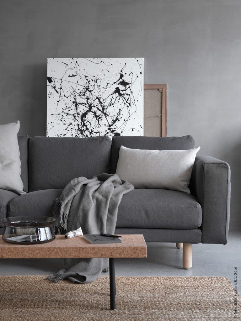 den mjuka stoppningen och de extra h ga armst den g r norsborg till den perfekta krypa upp i. Black Bedroom Furniture Sets. Home Design Ideas