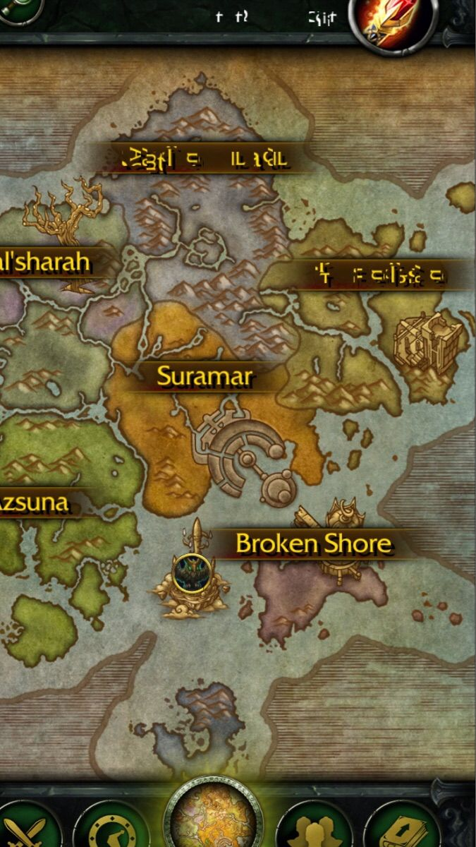 It seems the old gods have taken highmountain and stormheim my personal favourite zone in legion companion app gumiabroncs Choice Image