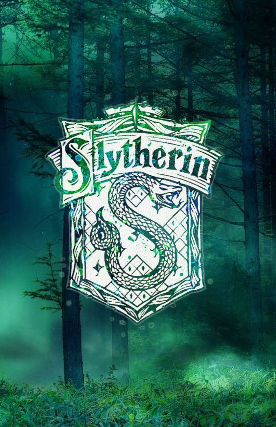 Harry Potter Iphone Wallpaper Slytherin