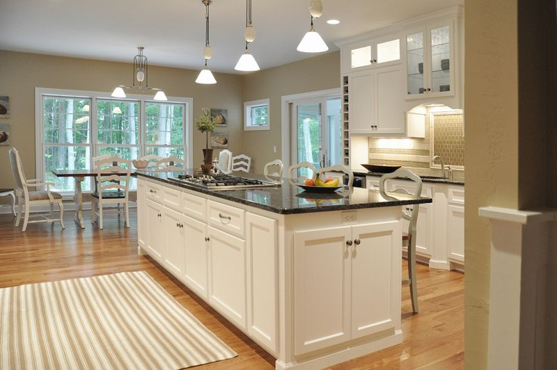 Custom Kitchen Design Simple Custom Kitchen Design Ideas Cook Top On Island Custom Natural Design Decoration