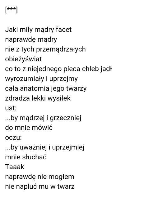 Andrzej Bursa Wiersze I Inne Bzdety Cytaty Wiersze I Myśli