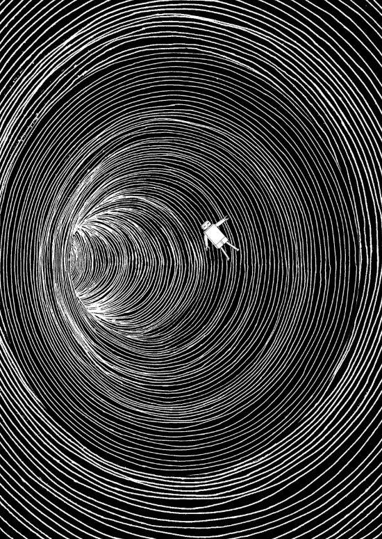 Lost in Space Art Print by marjannemars