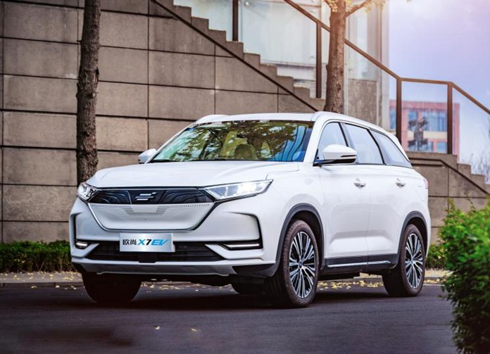 Changan Oshan X7 Ev Made Its Debut In China Chinapev Com In 2020 Chang An New Cars Tire Specification