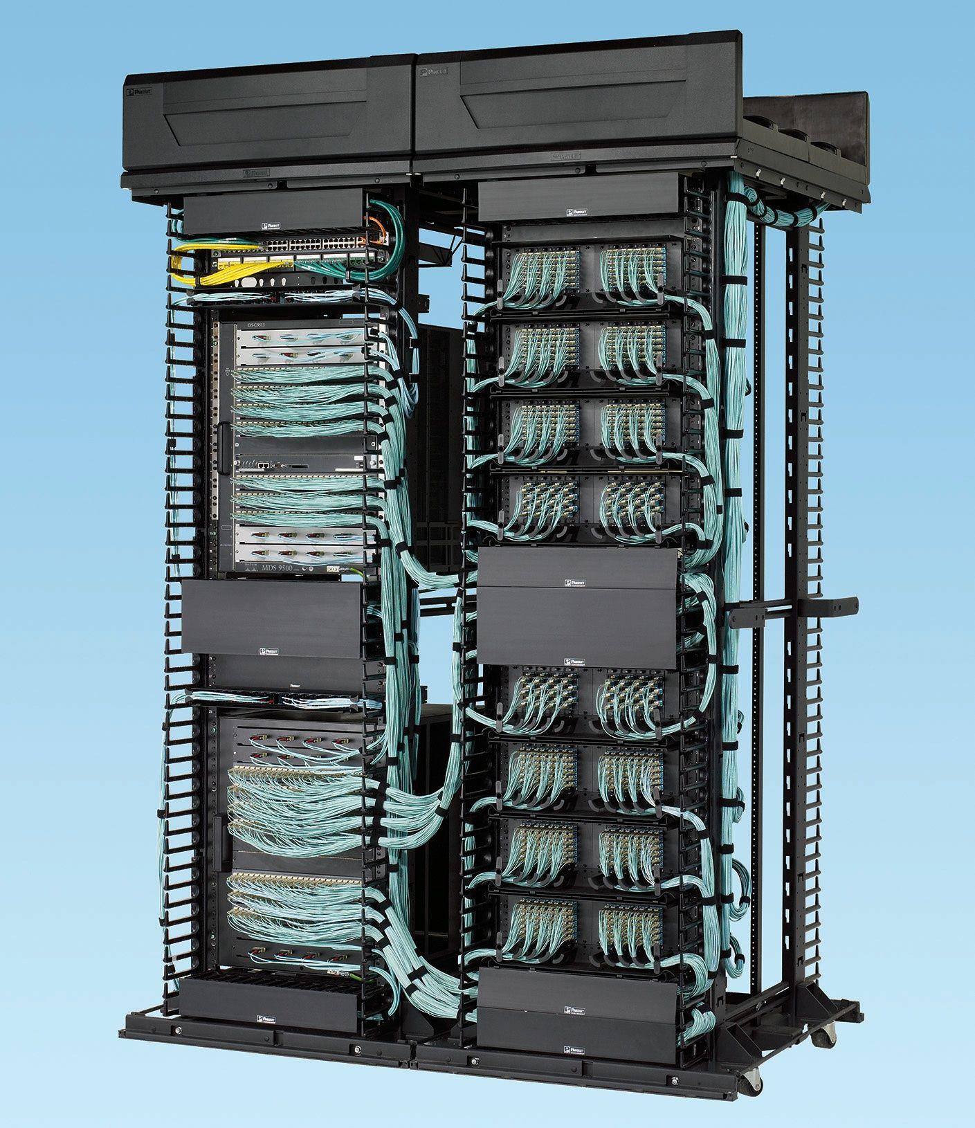 Panduit Fiber Optic Systems Meet Increasing Demands High Density