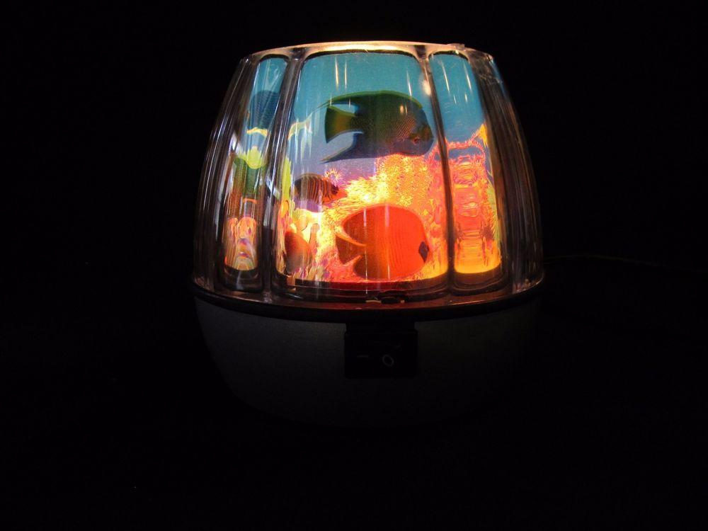 13 best ideas for lamp images on pinterest lamp shades light rotating motion moving tropical fish aquarium night light lamp ocean 5tall aloadofball Choice Image
