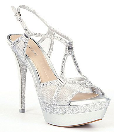 Top Fashion Silver Womens Special Occasion Evening Shoes Dillards