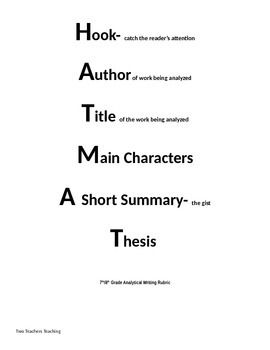 Walk Two Moons Literature Analysis Essay  Education  Pinterest  Common Core Aligned Writing Activity Which Is Excellent Practice For Parcc  Detailed Prompt Brainstorming Graphic Organizer Anchor Chart And Rubric