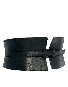 Wide Waist Cincher Buckle Belt