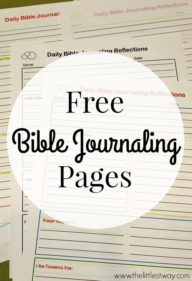 4 Free Journaling Printable Worksheets Daily Reflection Topical Study Characteristics Of And Notes Doodles Pages