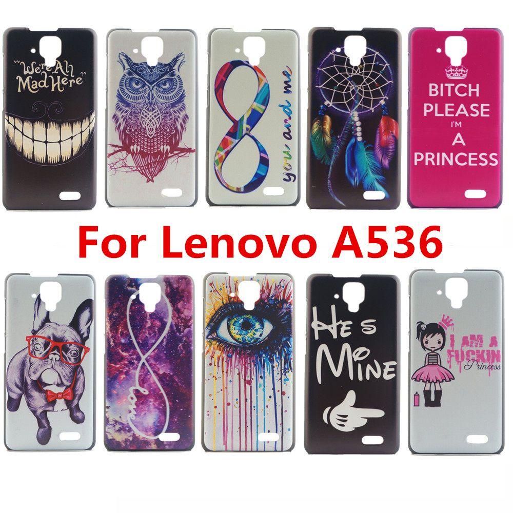 timeless design 13d73 24e12 Baru Desain Fashion Yang Sempurna Dicetak Kasus Untuk Lenovo A536 ...