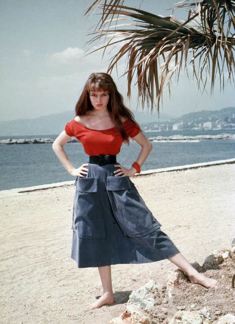 Vintage Everyday Brigitte Bardot Photographed In France At The