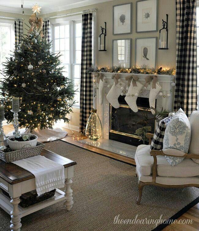 Beautiful Vianočné stromčeky Pinterest Gray, Christmas decor - christmas fireplace decor