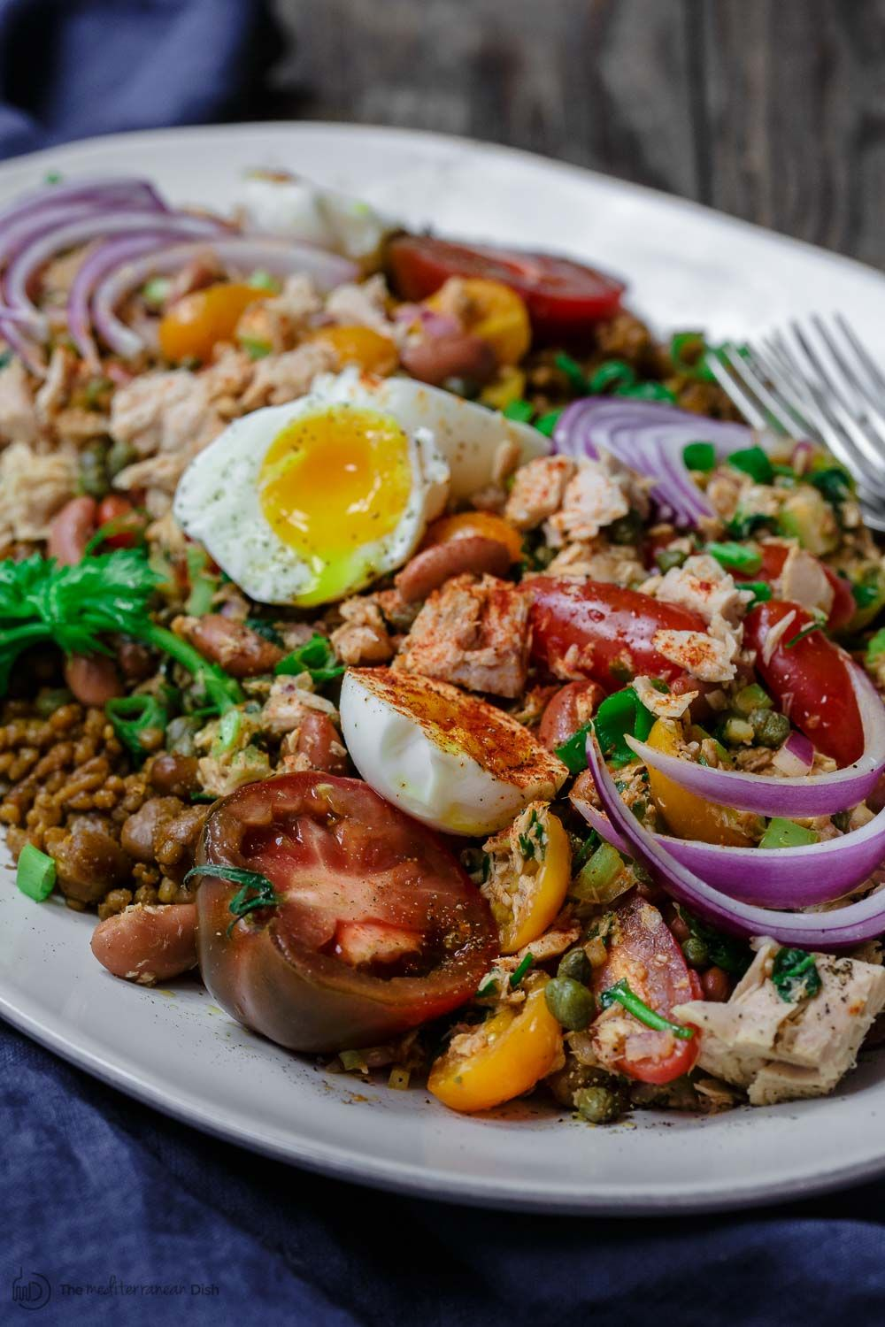 No Mayo Tuna Couscous Salad Recipe Tuna Recipes Pinterest