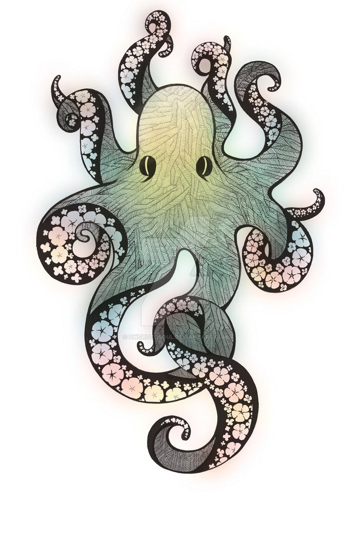 Octopus Illustration By Swordtosoul Projects To Try In