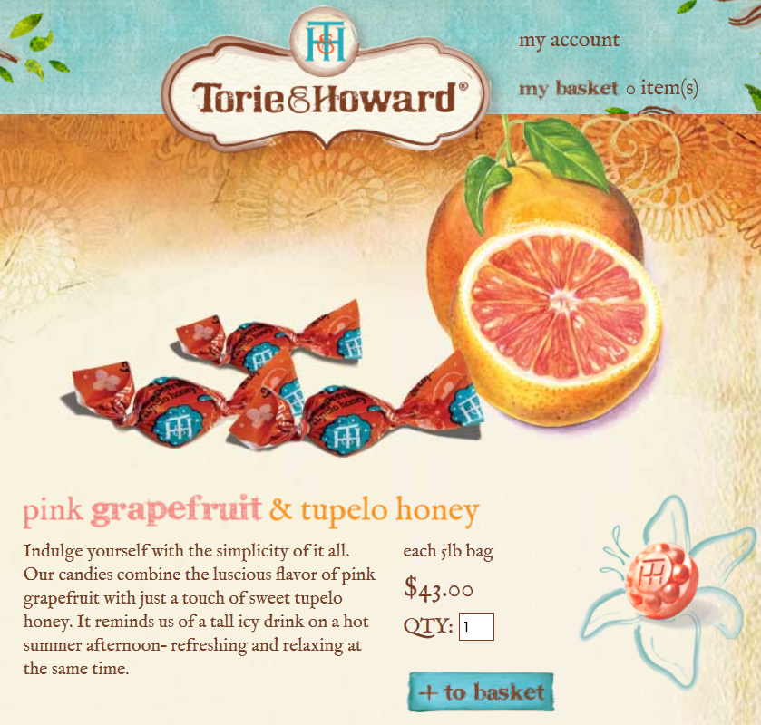 sale's as sweet as tupelo honey.  #torieandhoward #organic BULK #candy sale on pink grapefruit and blood orange flavors! ends OCT 31.  save over $11.00 and get FREE SHIPPING http://torieandhoward.com/bulk/