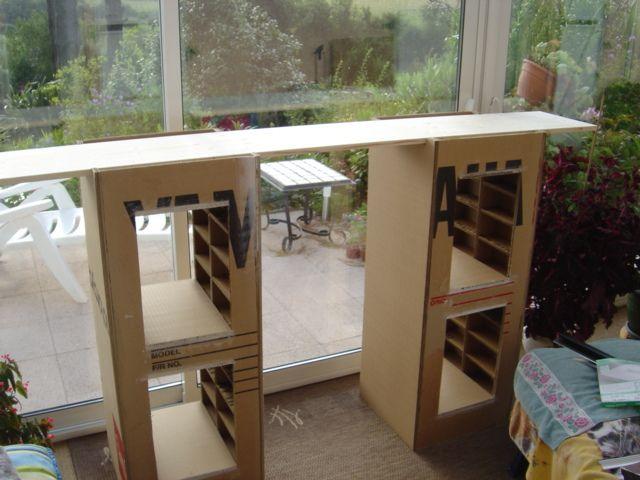 Tuto Bar En Carton Et Bois Le Blog De Nanou 29 Meubles En Carton Carton Meuble En Carton