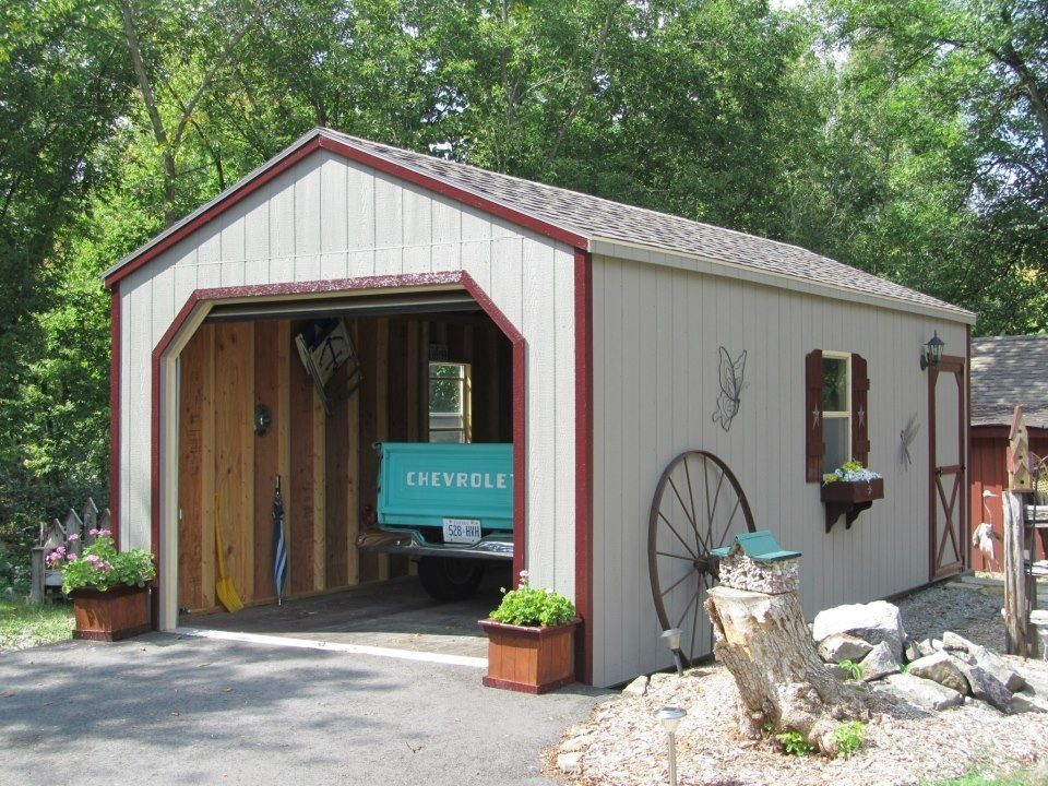 Prefab Wooden Portable Garage Cabin Portable Garage Garage Shed