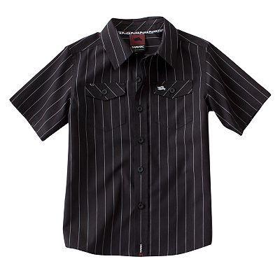 3618fdb4 Tony Hawk® Pin-Striped Woven Button-Down Shirt - Boys 4-7x   **Just ...