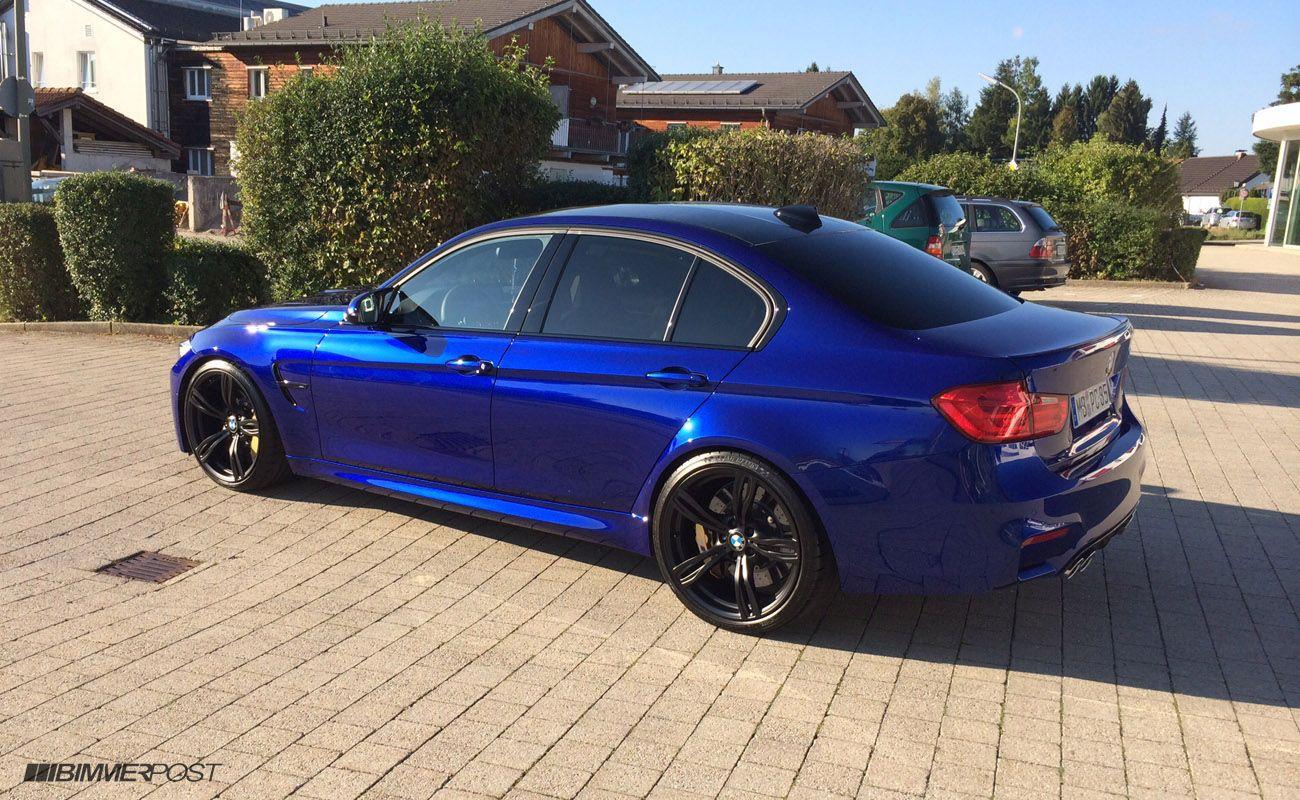 Bmw M3 F30 Blue