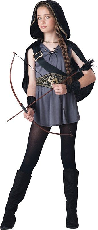 Hooded Huntress Child Costume Disfraces Para Chicas Disfraces Para Niñas Carnaval Disfraz Halloween Niña