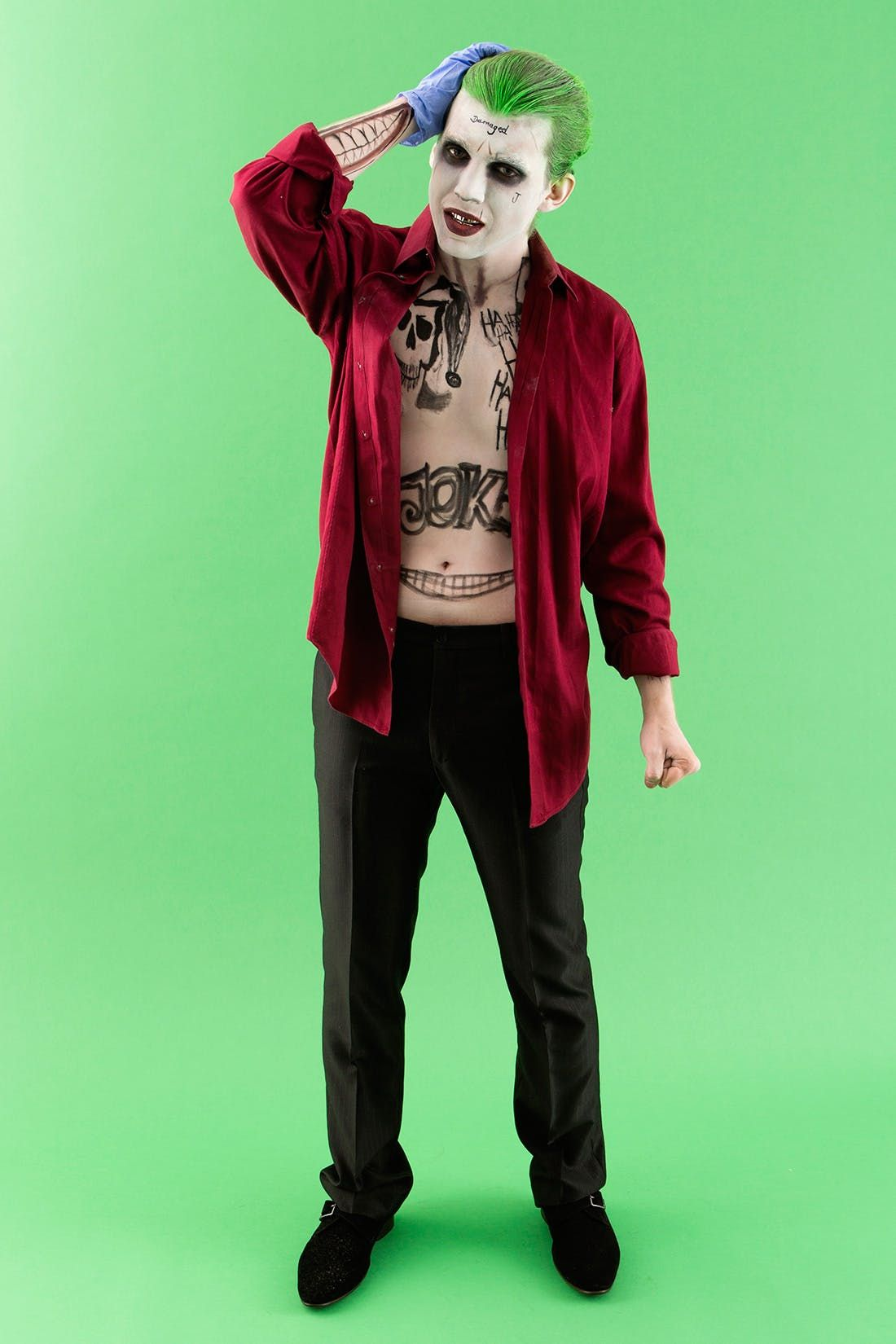 How to Make Suicide Squad's The Joker Costume for Halloween ...