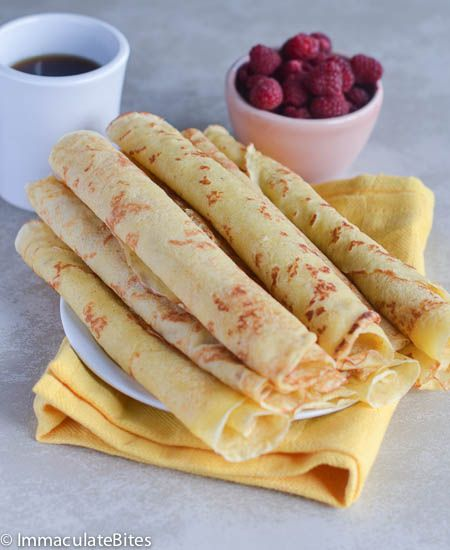 Crepe Recipe With Pancake Mix Breakfast