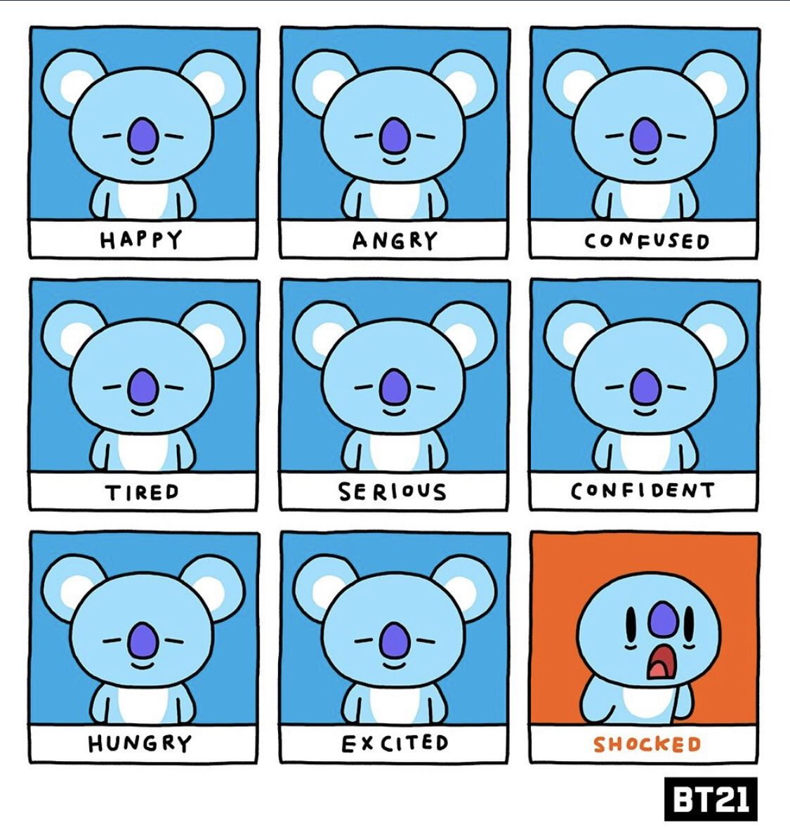 What's your mood for today? 😌💤😱 DetachableEars KOYA