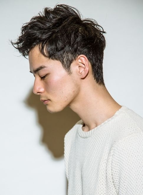 ミリタリーアップバングショート 髪型メンズ パーマ Pinterest Permed Hairstyles Short Permed Hair Hair Designs For Men