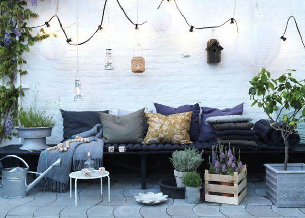 Extrêmement Terrasse en longueur : nos idées d'aménagement | Marie claire  PQ95