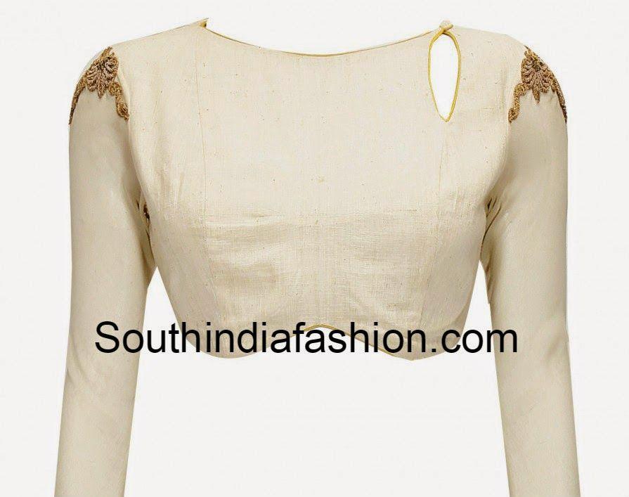 Boat Neck Full Sleeves Blouse | Patronaje, Blusas y Costura