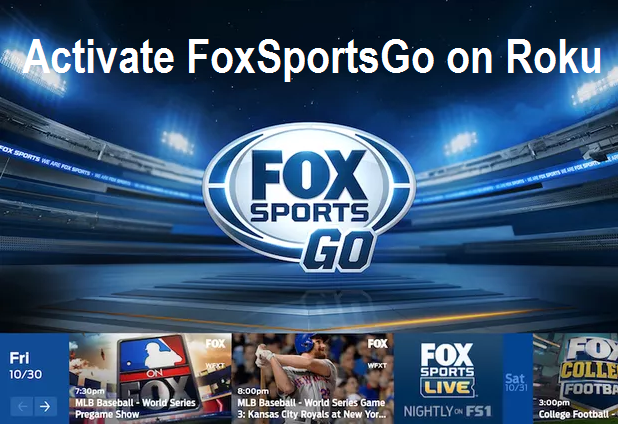Activate FoxSportsgo.com/activate on ROKU | Easy Steps to Guide | Roku, Roku channels, Sports channel