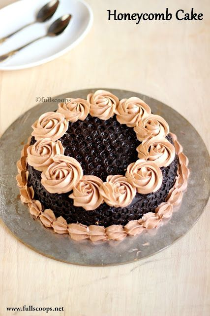 Honeycomb Frosting