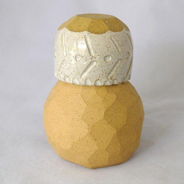 Ceramic Boulder Bedside Carafes