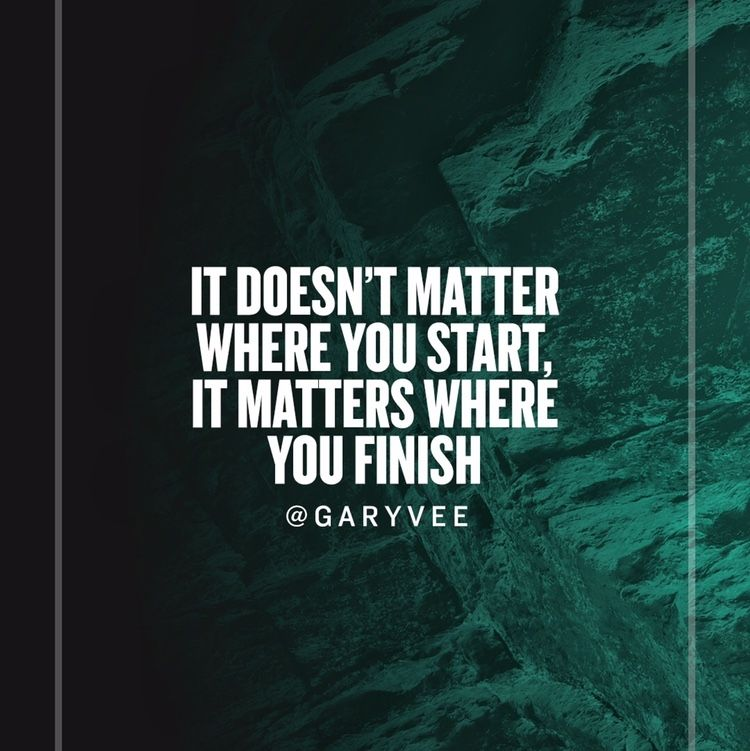 The first step is always the hardest but if you press on