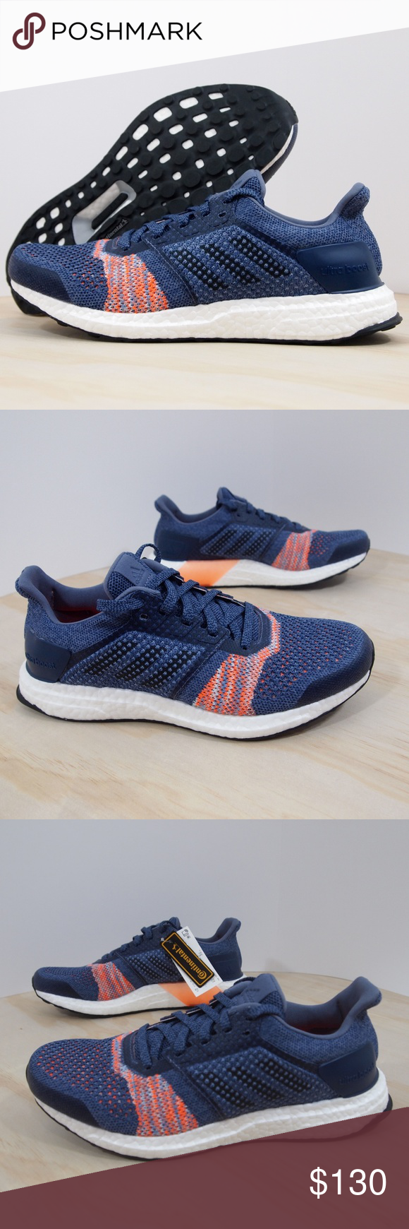 97b751b0aaaa7 Adidas Womens Ultra Boost ST Size 8.5 Indigo New 100% Authentic. New  without box. adidas Women s Ultra Boost ST Color  Raw Indigo
