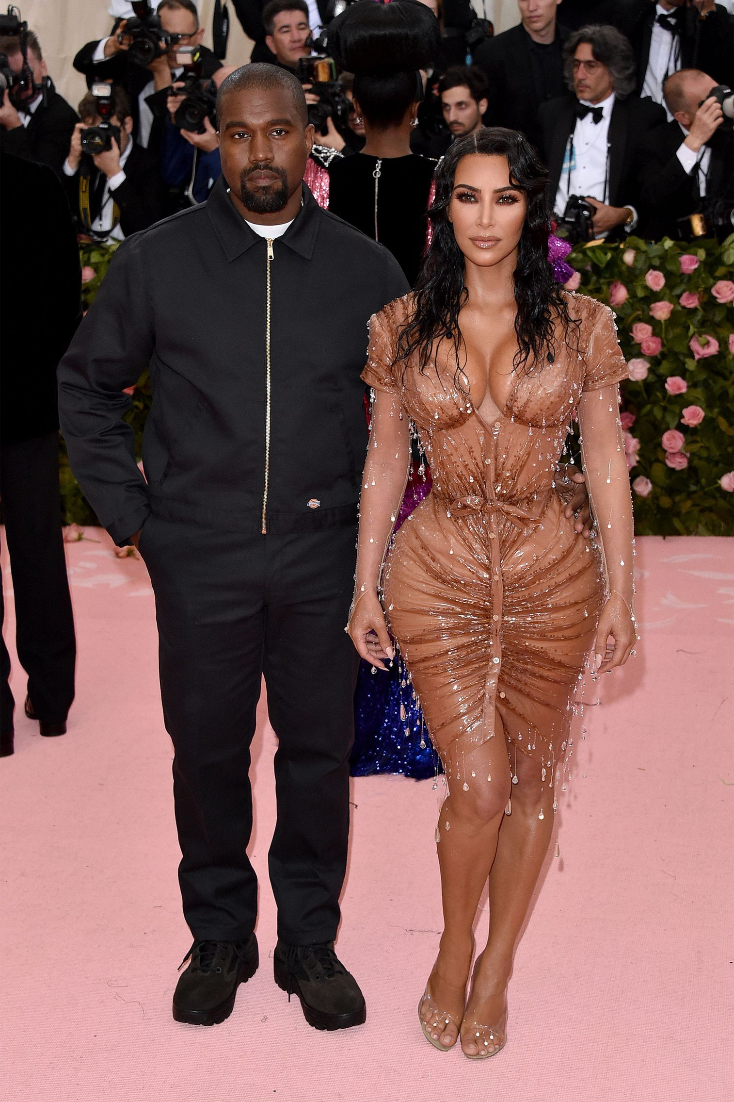 The Best Celebrity Couples On The 2019 Met Gala Red Carpet Met Gala Kim Kardashian And Kanye Met Gala Red Carpet