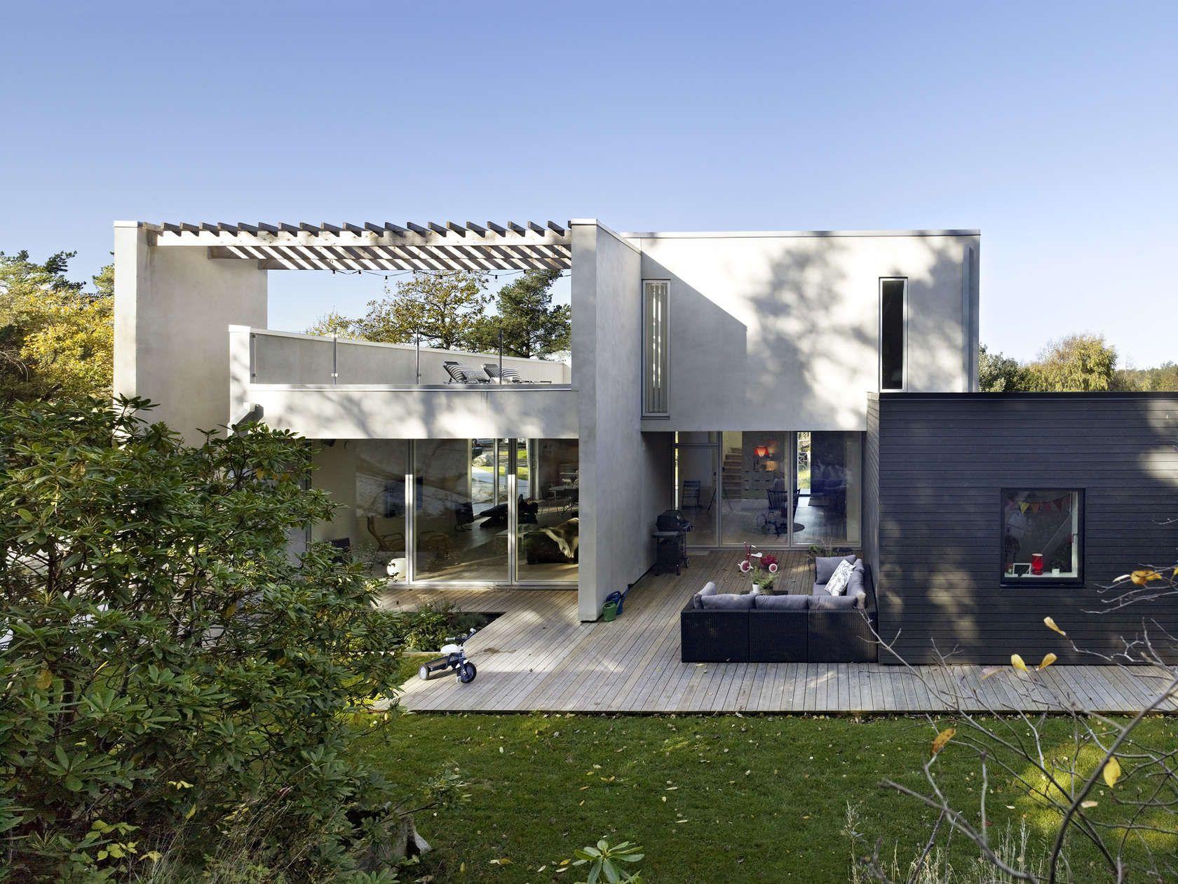 Modern House Design, Modern Houses, House Exteriors, Villas, Arch, Modern